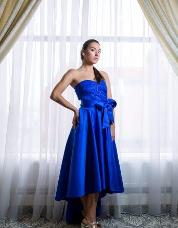 rochie de seară din mătase