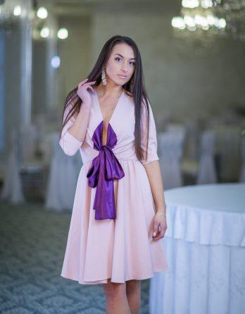 rochie de seară din jerse
